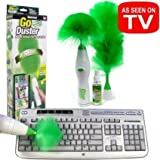 #8: Go Duster Motor-driven Feather Duster Dust Brush More Function Remove Dust Shan Motor-driven Remove Dust Brush