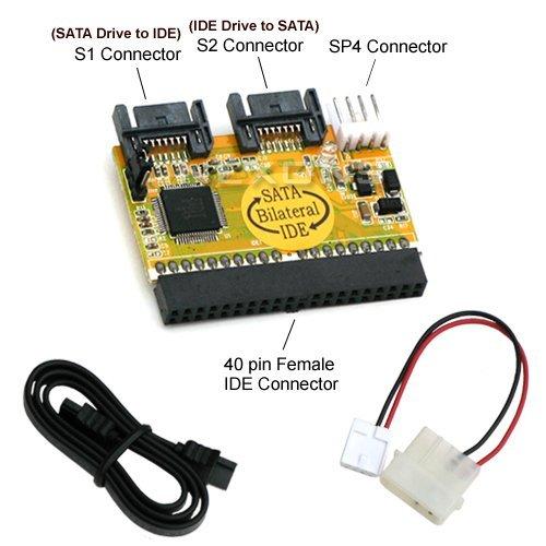 Bipra ' Disco Duro bidireccional IDE/SATA Conversor