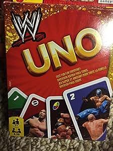 Mattel - R2821 - Jeu de plateau - Uno - WWE