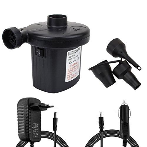 Elektrische Quick-Fill-Luftpumpe 220V AC / 12V DC tragbare Luftpumpe im Schwimmen Ring, im aufblasbaren Bett etc(Nicht für Ballons!)