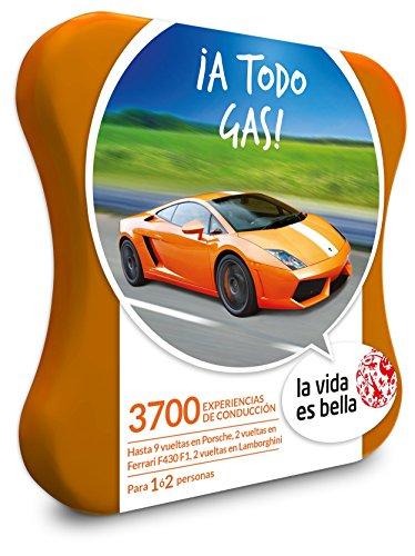 A TODO GAS! experiencia de conducir Caja Regalo LA VIDA ES BELLA