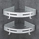 Hoomtaook Shower Shelf without Drilling Bathroom Shelf Aluminium Patented