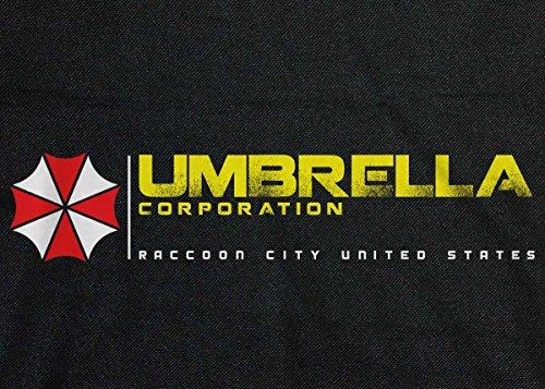 Resident Evil: ombrello Corp retro messenger bag Black