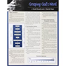 GRASPING GODS WORD LAMINATED SHEET (Zondervan Get an A! Study Guides)