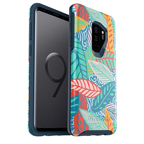 OtterBox Symmetry Series Schutzhülle für Samsung Galaxy S9+, Einzelhandelsverpackung, Anegada von Trèfle