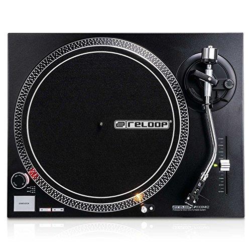 Reloop RP DJ Platine RP-2000 MK2 Schwarzmetallic