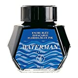 #7: Waterman Ink Bottle Florida Blue/ Serenity Blue  50 ml