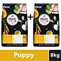 Grain Zero Puppy Dry Dog Food, Super 4 kg Pack(Buy 1 GET 1…