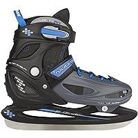 Nijdam no - Patines de patinaje sobre hielo , color Negro, talla 30-33