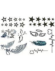 Suchergebnis Auf Amazon De Für Engel Temporäre Tattoos Körper