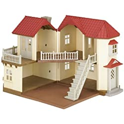 Sylvanian Families 4531 Beechwood Hall - Casa de jugete, madera
