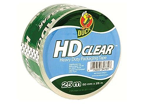 Duck Heavy Duty Packaging Tape - 50 mm x 25