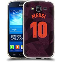 Official FC Barcelona Messi 2017/18 Players Third Kit Group 1 Soft Gel Case for Samsung Galaxy Grand Neo