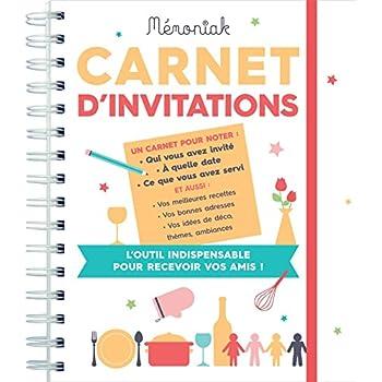 Carnet d'invitations Mémoniak 2018