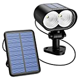 Solar Spotlight, Mpow LED Solar Wall Light, Wireless Waterproof Outdoor Security Night Light, for Patio, Deck, Yard, Garden, Driveway (Multi-function,Super Bright)