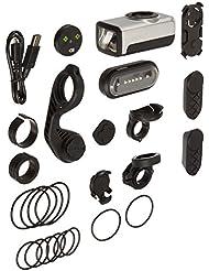 Garmin Varia Fahrradbeleuchtungsset - Frontscheinwerfer, Rücklicht mit Bremsfunktion, StVZO-Zulassung
