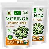 Moringa 480 Energy Tabs 950 mg, 100% naturel (2x240 comprimés)