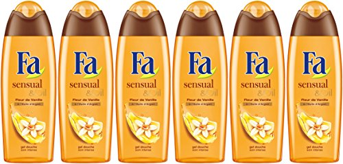Fa  - Sensual & Oil Fleur de Vanille - Flacon 250 ml - Lot de 6