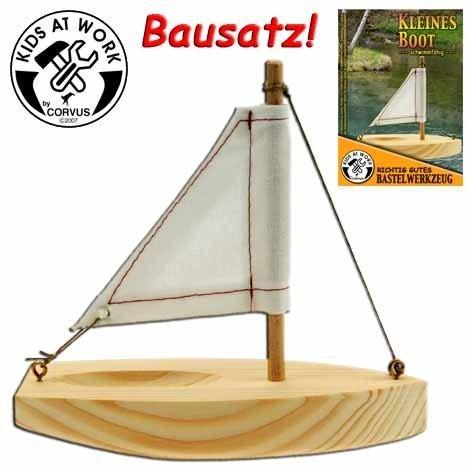 CORVUS 600590CP kleinen Boot, Holz Farbe - Cp-holz