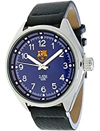 RADIANT Reloj analógico de caballero F.C.BARCELONA - Correa de piel - Azul - BA-