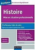 Image de Histoire, Mise en situation professionnelle - 2e - Epreuve orale d'adm