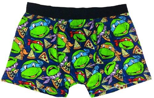 Turtles Boxershorts -M- Turtles/Pizza all over pri