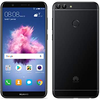 huawei p smart 32 gb smartphone schwarz elektronik. Black Bedroom Furniture Sets. Home Design Ideas
