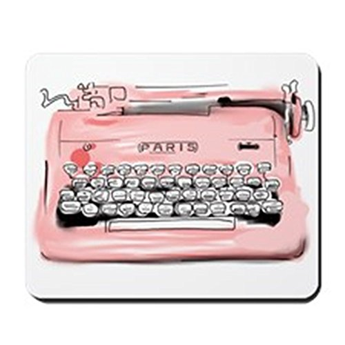 """CafePress """"Paris"""" Typewriter """"Mousepad-Standard, mehrfarbig"""