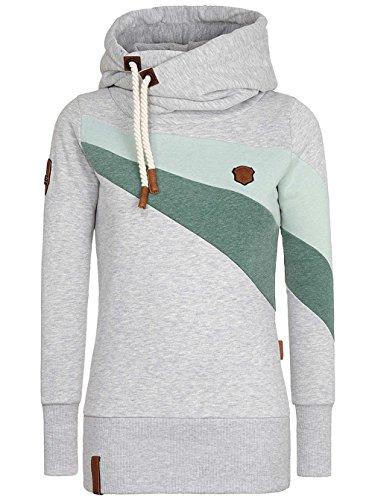 Naketano Damen Sweatshirt Grey Melange