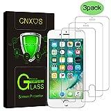 iPhone 6 Plus/6S Plus Pellicola Protettiva, [3-Pack] CNXUS Proteggi Schermo in Vetro Temperato [Anti-Graffio] Trasparenza ad alta Definizione, Anti-Bolla per iPhone 6S plus / 6 plus immagine