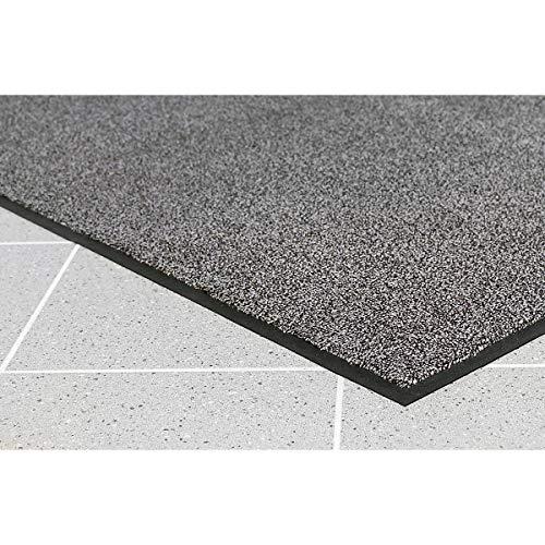 COBA Schmutzfangmatte für innen, Flor aus Polyamid - LxB 850 x 600 mm, VE 2 Stk - anthrazit - Bodenmatte Bodenschutzmatte