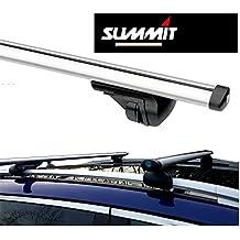 Summit Barras de techo de aluminio para coche