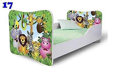 Beautiful para cama con colchón incluido, diseño de jungla