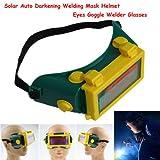 Yosoo Pro Auto Solar Oscurecimiento de Soldadura Casco Máscara Ojos Goggle Soldador Gafas Arco DIN3/11