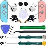 3D Sinistra Destra Joystick Stick Analogico, Y1.5 +2.0 Tri-Wing Triangolare Viti Per Nintendo Switch Joy-Con Controllers