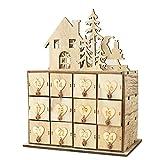 LEO565TOM Aufbewahrungsbox aus Holz Weihnachts-Aufbewahrungsbox Kreative Holzkiste Dekoration Ornamente Lebensmittelgeschäft Aufbewahrungsbox Schmuckschatulle