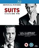 Suits - Seasons 1-5 (19 Blu-Ray) [Edizione: Regno Unito] [Reino Unido] [Blu-ray]