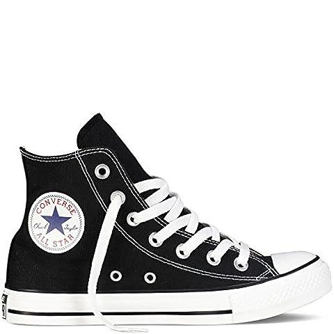 Converse Unisex Chuck Taylor All Star Hi Top Sneaker (8 B(M) US Women / 6 D(M) US Men, Black)