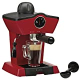 Koölle 5 Bar Espresso Coffee Maker Machine – Make Espressos, Lattes, Cappuccinos & More! – 2 Year Warranty (Red)