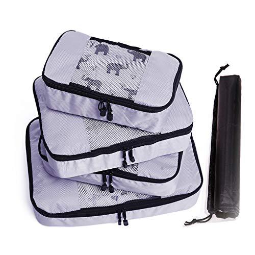 Kapazität Multifunktionale wasserdichte Reißverschluss Reisetasche Package Bag Set ()