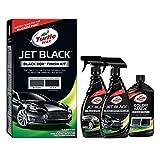 Turtle Wax 52989 Jet Black Box Auto Farbe Restaurator Kit erhellt verblasst und verlorene Farbe
