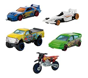 hot wheels w2638 radio commande v hicule miniature coffret de 5 voitures jeux. Black Bedroom Furniture Sets. Home Design Ideas
