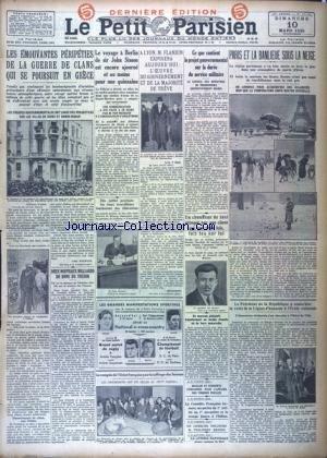 PETIT PARISIEN DERNIERE EDITION (LE) [No 21194] du 10/03/1935