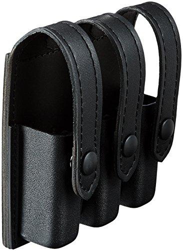 Safariland Duty Gear schwarz Snap Glock 17, 22, 34, 35Flat Top Slimline Triple Magazin Beutel (STX schwarz) -