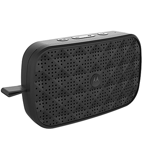 Motorola Sonic Play 150 SP002 Bluetooth Speaker with FM Radio (Black)