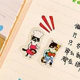 Pinzhi 6Pcs Sticker Scrapbooking Handwerk Backpapier Dekoration Tagebuch Label Aufkleber Geschenk DIY