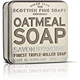 Scottish Fine Soaps Oatmeal Soap 100g in Tin