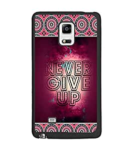 PrintDhaba Quote D-4158 Back Case Cover for SAMSUNG GALAXY NOTE 4 EDGE (Multi-Coloured)
