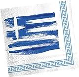 20 Servietten * GRIECHENLAND * für Party und Geburtstag von DH-Konzept // Gresse Athen Party Set Napkins Papierservietten