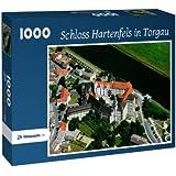 Schloss Hartenfels in Torgau - Puzzle 1000 Teile mit Bild von oben